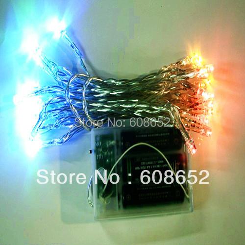4-color flash 4.5V-3 m 30pcs-LED Light String - Outdoor - Lighting Line