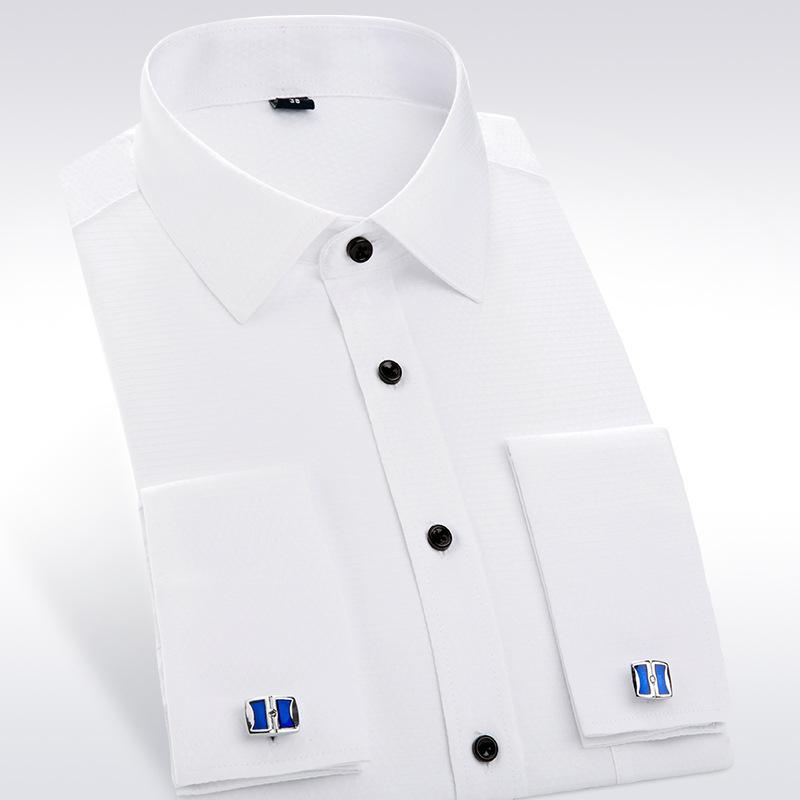 Popular single cuff cufflink shirts buy cheap single cuff for Single cuff dress shirt