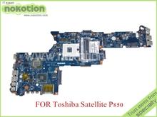QFKAA LA-8391P REV 1.0 K000135200 For toshiba satellite P850 Laptop motherboard hd4000 GeForce GT630M