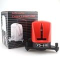 ACUANGLE A8810 2 Cross Red Lines Laser Level YD 810 Mini Self leveling Cross Line Laser