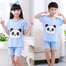 pijamas kids 2016 new cartoon pajama sets baby boys girls pyjamas clothing sets children cotton garment cheap