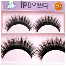 2 pieces  false eyelashes cat cat A18 multilayer thick makeup stage(China (Mainland))