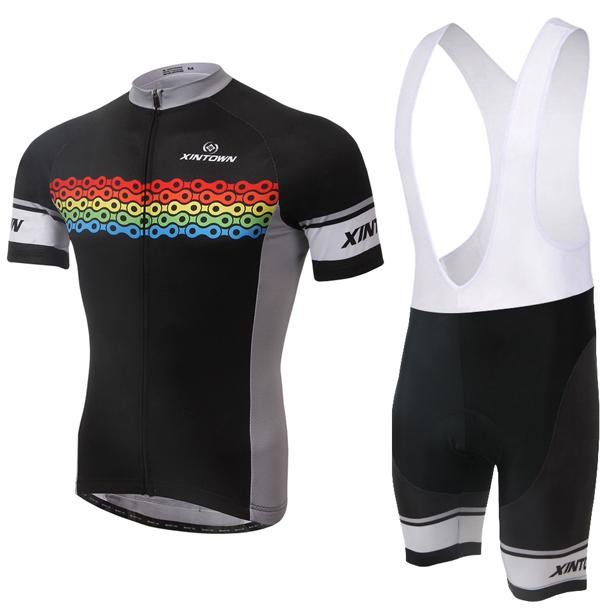 2015 black new arrival bike Jersey and(BIB) Short Sets Biking apparel Bicycle Clothes cycling jacket running Wear polyester(China (Mainland))