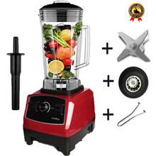BPA livre 2200W Heavy Duty Commercial Blender Misturador Liquidificador Processador de Alimentos Profissional Japão Lâmina Espremedor de Gelo Máquina Do Smoothie(China)