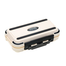 24 Compartments Lure Fishing Box Double Layer Fishing Box High Quality Plastic Fishing Tackle Box(China (Mainland))