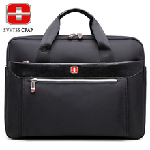 Buy SVVTSSCFAP men handbag business shoulder bag men briefcase messenger bag women nylon men's bags 15 inch laptop High for $30.64 in AliExpress store