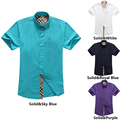 2015 men clothing brand dress shirts 100% cotton long sleeved striped shirt fashion famous luxury slim fit stylish men shirts