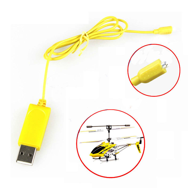 2PCS RC Helicopter Syma S107 S105 USB Mini Charger Charging Cable Parts Drone Charging Cable(China (Mainland))