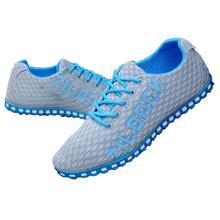 Новый 2016 удобная дышащая мужская спортивная обувь, Супер свет сетки кроссовки, Очень крутой спортивная обувь кроссовки свободный ход