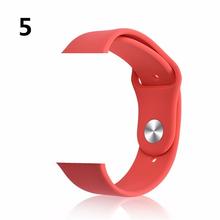 Хохлатый ремешок для Apple Watch band 4 3 42 мм 38 мм iwatch band 44 мм/40 мм correa браслет Спорт силиконовый ремень часы Аксессуары 42(China)