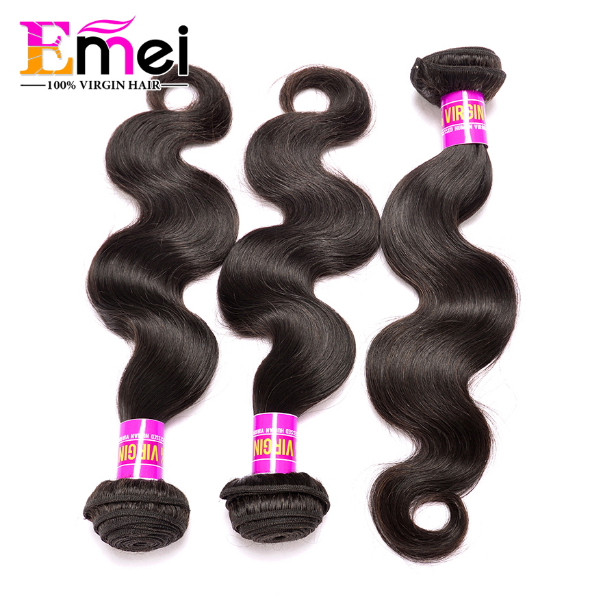 Stema Hair Brazilian Body Wave 7A Unprocessed Virgin Hair Mink Brazilian Hair Body Wave 3 Bundles Vip Beauty Unice Hair Company