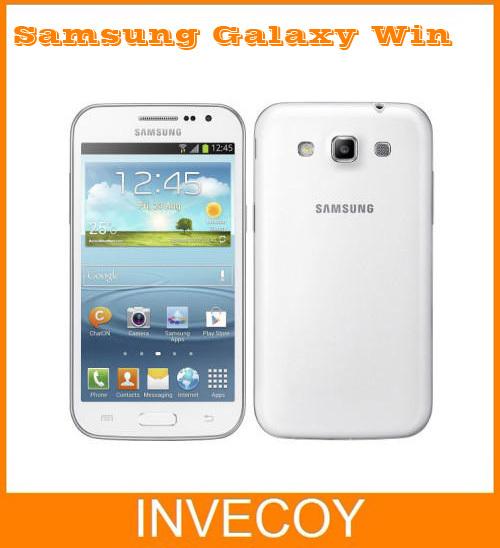 Samsung Galaxy Win Original Unlocked I8552 Mobile Phone Android 4GB Wifi GPS Quad Core 4.7'' freeshipping(China (Mainland))