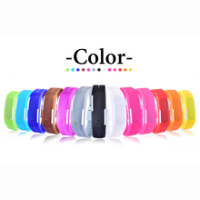 Touch Screen LED Bracelet Digital Watches For Men Ladies Child Clock Womens or Wrist Watch Sports