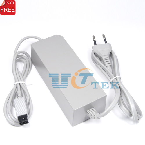 Replacement Wall AC Power Adapter For Nintendo Wii Supply Cord Cable EU Singapore Post Free Shipping(China (Mainland))