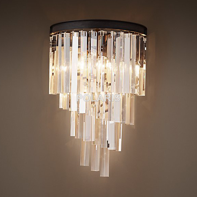 Wall Lamps With Outlets : Popular Crystal Chandelier Sconces-Buy Cheap Crystal Chandelier Sconces lots from China Crystal ...