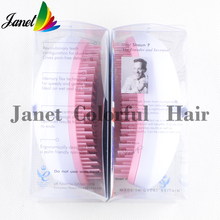 1pcs New package Fashion Detangle Styling Comb hair Brush Comb Cute color Drop Shipping Detangling hair brush Free shipping(China (Mainland))
