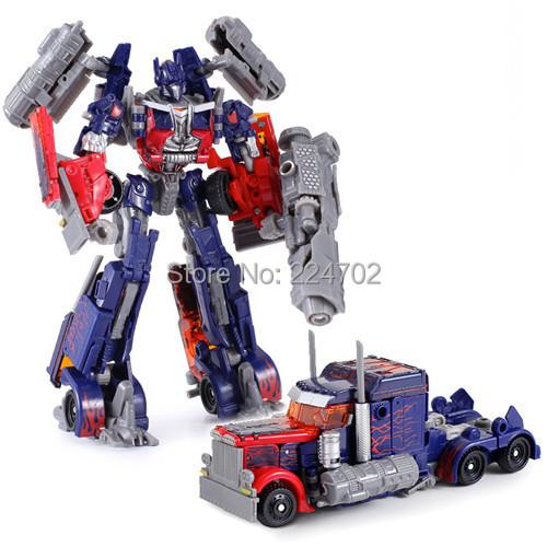 Genuine Optimus Prime Megatron Transformation Robots VOYAGER Classic Toys PVC Action Figure Gifts Children - LeBei (HK store Trading Co., LTD)