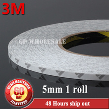Buy 1x 5mm*50 meters 3M 9080 Double Sided Sticky Tape Adhesive LED Strip LCD Case, Sticky, Common Using Adhesive Tape for $4.89 in AliExpress store