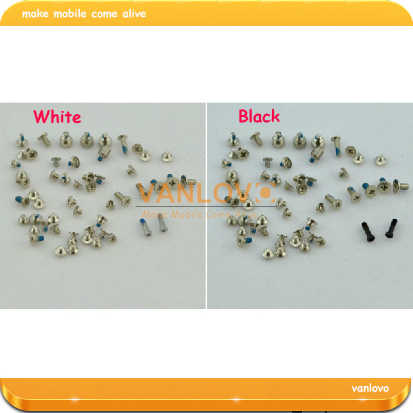 20set/lot Full Complete Replacement Screws Set for iPhone 5 5G Repair Replace Fix free shipping