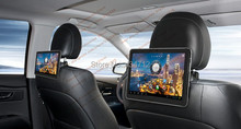 10.1 inch Clip-on bracket 1.3Ghz Dual core Android 4.0 touch screen 3G Moderm AV out Car Headrest Android Monitor pad(China (Mainland))