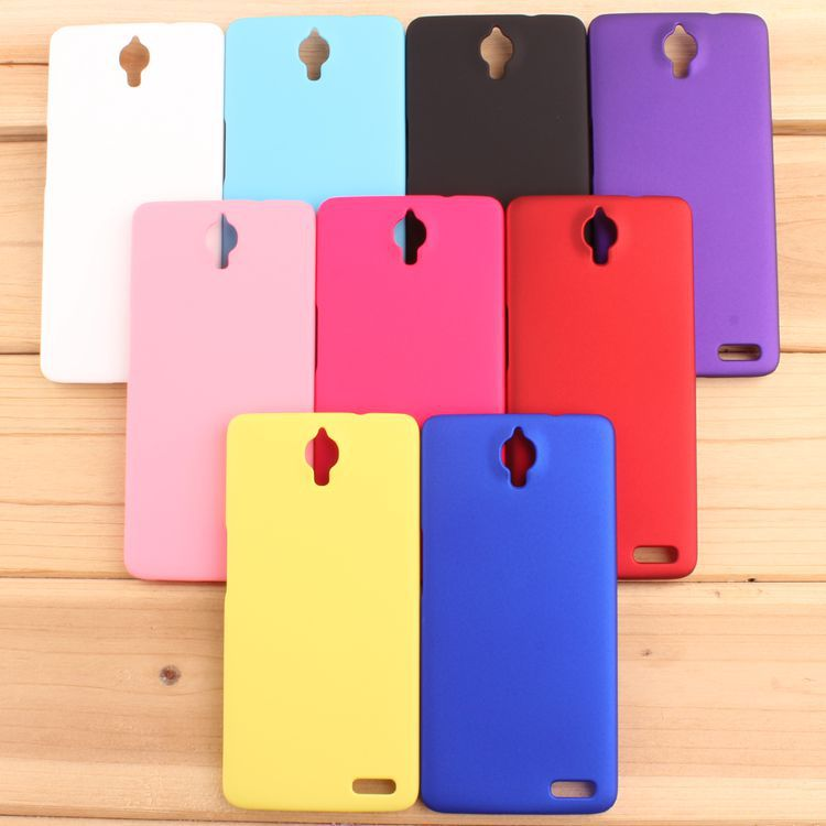 High Quality Frosted Matte Hard Back Cover Case For Alcatel One Touch Idol X 6040 6040D Plastic Rubber Mobile Phone Bags(China (Mainland))