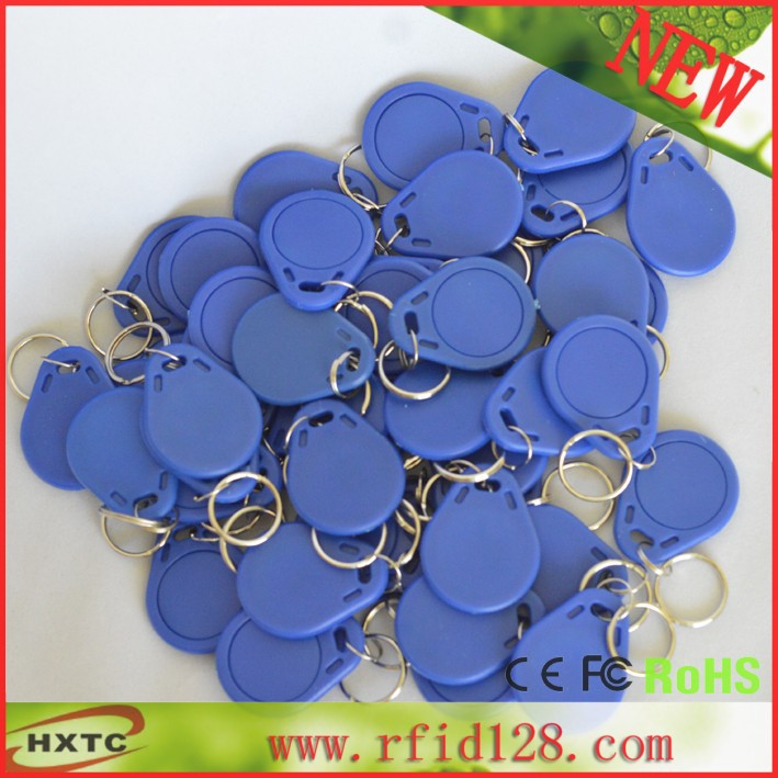 50PCS HF/13.56MHz rfid NFC Smart IC Key Fobs/Tags/Cards For Channel Access Control / Keyless Access Door Lock Free Shipping(China (Mainland))