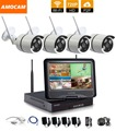 1280 720P HD Wireless Outdoor Network IP Security Camera 4CH 720P HD WIFI NVR Wireless CCTV
