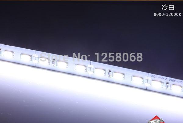wholesale! 50m/lot led bar light 12v 5730 563018W/M hard rigid strip 72 leds/m showcase home party industrial lamp ultra slim(China (Mainland))