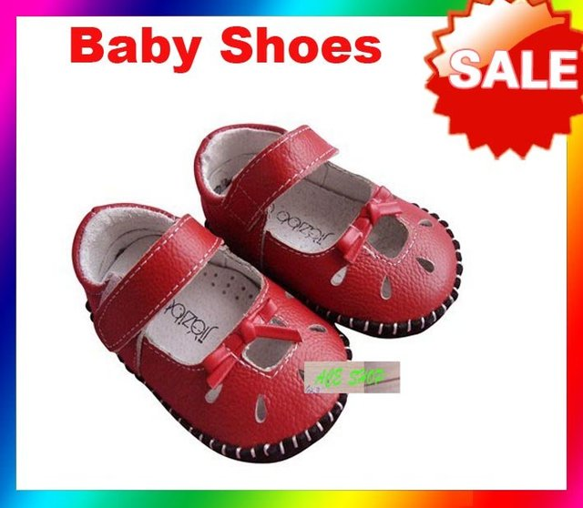 Free shipping---new  100%  soleleather shoes baby