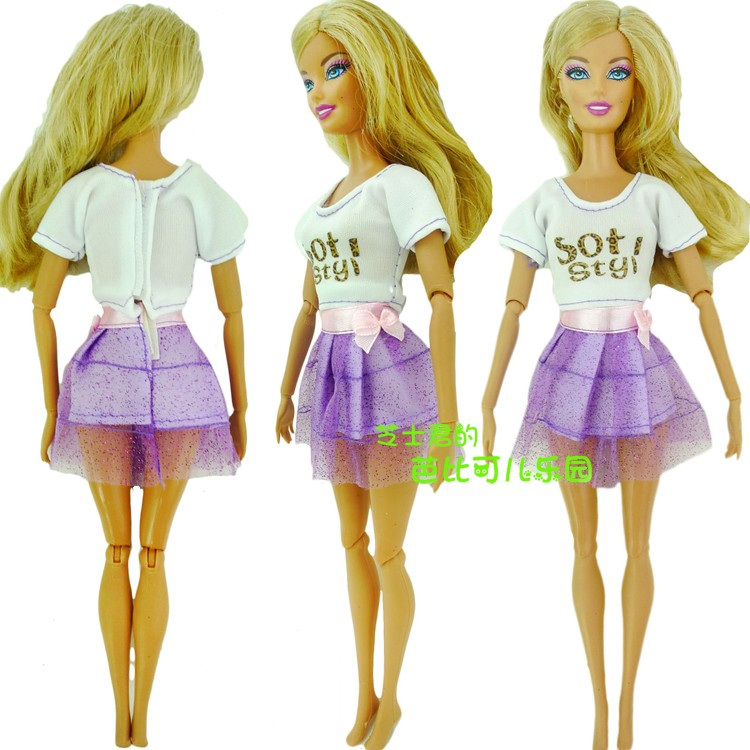 2016 NewDoll Gown Stunning Handmade Social gathering Garments Vogue Gown For Barbie Doll,Greatest Little one Women'Reward Women Vogue Doll
