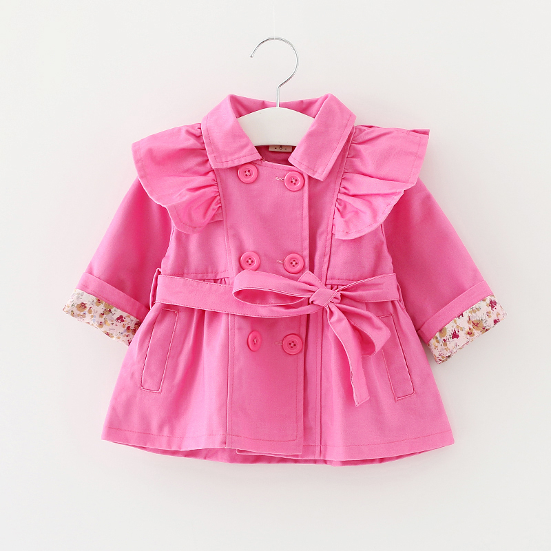 Spring autumn 2015 baby girls coat outwear roupa infantil feminina cute baby jacket casaco infantil girl clothing<br><br>Aliexpress