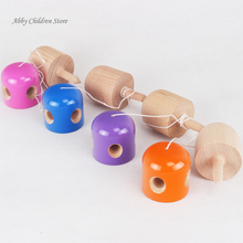 5 Holes Pill Kendama Ball Wooden Japanese Traditional Toy Ball Juggling Ball Game PU Paint Christmas Gift For Children Adult(China (Mainland))