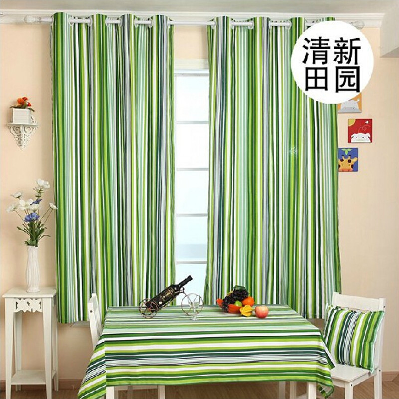 Green curtains for living room decorate the house with for Modern living room green