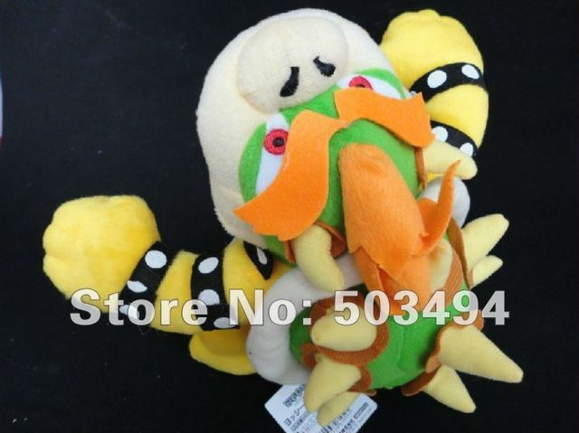 EMS Free Shipping 200pcs/lot Super Mario Bros BOWSER Plush Doll Toy Figures 10Inch