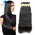 PREDAZZLE High Quality 10A Brazilian Virgin Human Hair Bulk No Weft African Hair for Braiding Bulk Silky Straight Queen Hair