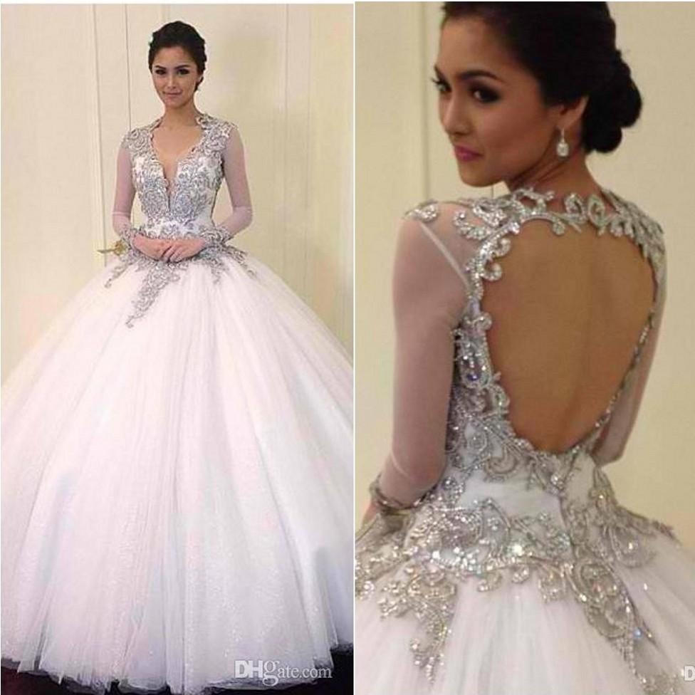 winter wedding dresses with bling bling wedding dresses Winter Wedding Dresses With Bling