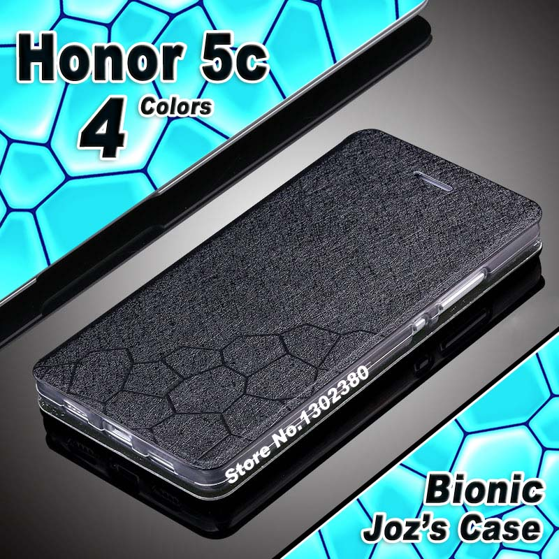 Huawei honor 5c case cover leather luxury water cube pu flip case for Huawei honor 5c phone case 4 style Huawei 5c honor5c case(China (Mainland))