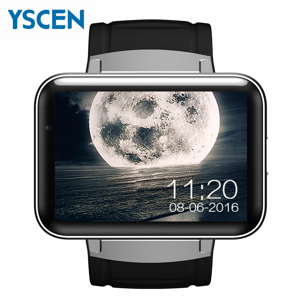 "DM98 Smartwatch 2.2"" inch GPS 3G dual sim wifi android smart Bluetooth watch with wifi map support facebook and whatsapp Wechat(China (Mainland))"