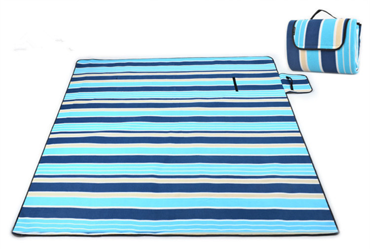 More than 200 * 200cm outdoor waterproof suede picnic camping mat, high quality cheap casual yoga foldable beach mat(China (Mainland))
