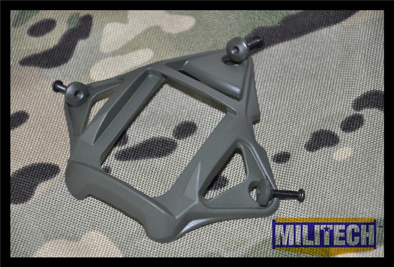 Oliver Drab OD Color Aluminum Skeleton Shroud MARSOC WARCOM Night Vision 3 Holes Goggle Mount Base NVG Ops Core Skeleton Shroud<br><br>Aliexpress