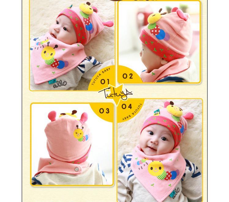 Hot Sale New Style Toddler Kids Baby Boys Girls Knitting Cap Cute 3D Cartoon Pattern Colorful Hat 5 Pcs/lot mix(China (Mainland))
