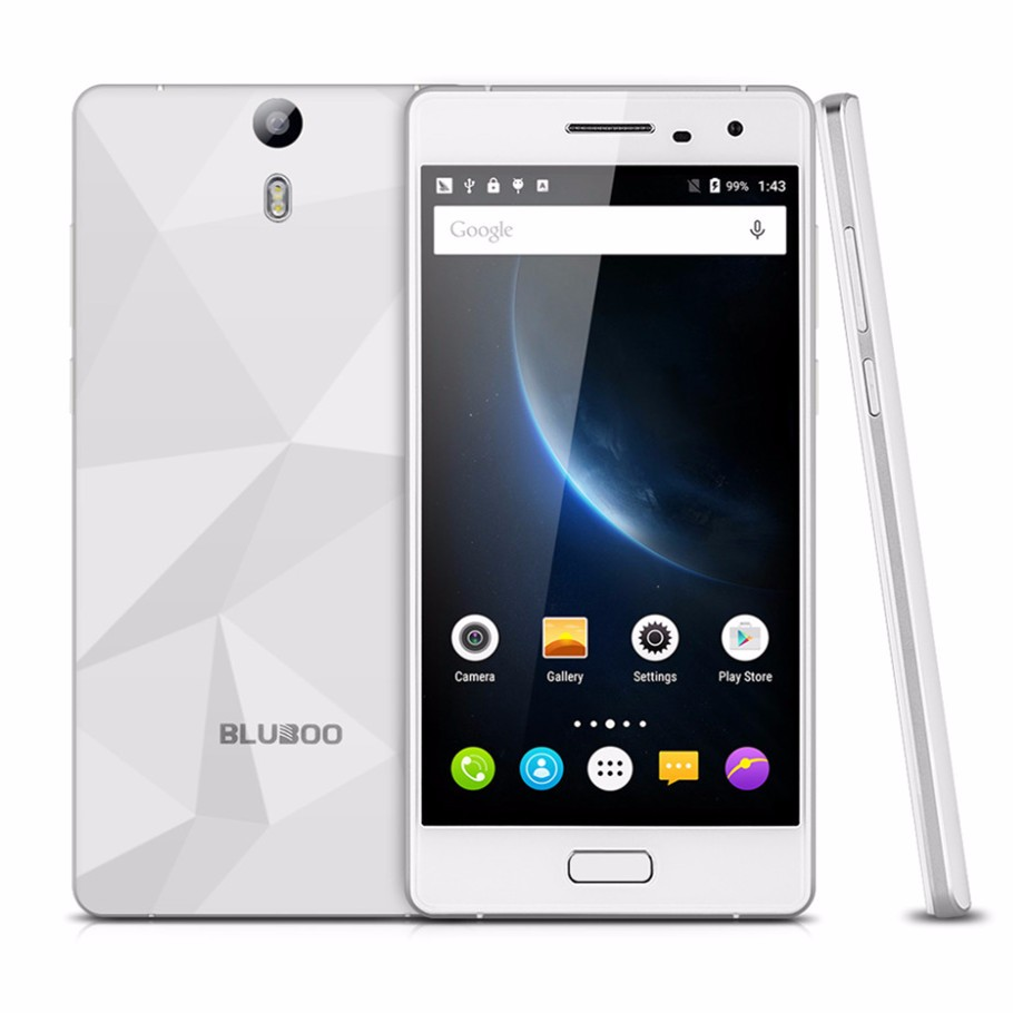 "BLUBOO Xtouch MTK6753 Octa Core 4G LTE Mobile Phone 5"" FHD 3G RAM 32G ROM 13MP Android 5.1 3050mAh Fingerprint Smartphone"