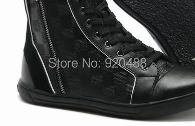 New Designer Brands Autumn Winter Warm Men's High Top Shoes Sneakers