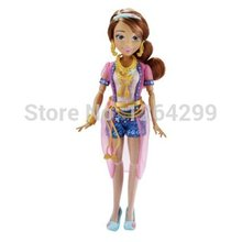 "Original Descendants Fashion Figure Dolls For Girls 12"" Maleficent Mal Evie Jane Audrey Lonnie Ben Carlos Jay Kids Toys Gifts(China (Mainland))"