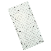1 Pc 30 * 15 Cm Patchwork Ruler Quilting Tools High Grade Acrylic Material Transparent Ruler Scale School Supplie(China (Mainland))