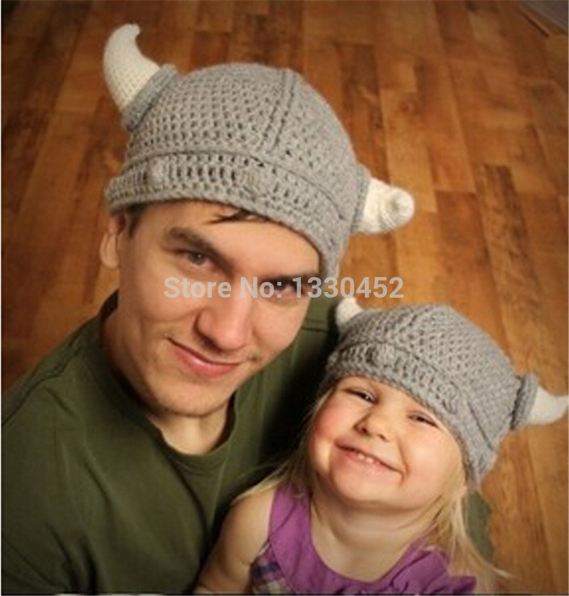 Knitted Viking Hat Knitted Hat Viking Baby
