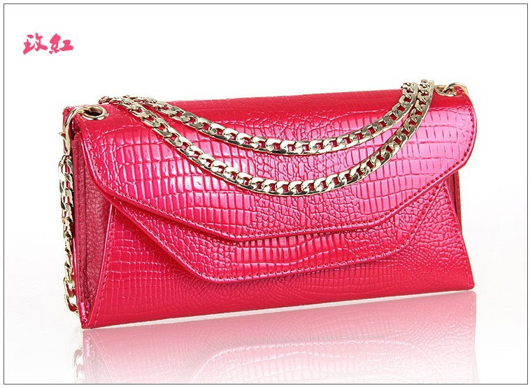 Free shipping!!!Large capacity multi-function crocodile leather wallets women,fashion 100% top leather women messenger bags(China (Mainland))