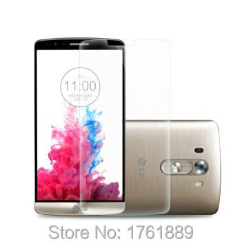 2pcs trempe for LG G3 screen protector guard saver premium temperedg glass film ecran protecteur Pelicula De Vidro for g3 D855(China (Mainland))