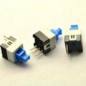 7x7MM single self locking switch 3pin