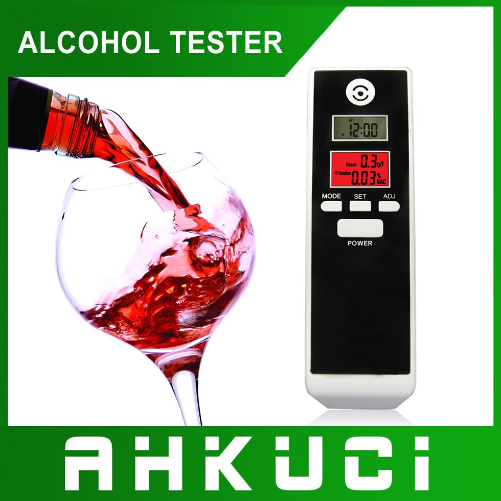Free Shipping Dual LCD Display Clock Digital Breath Alcohol Tester with Backlight PET-661S factory suppy(China (Mainland))